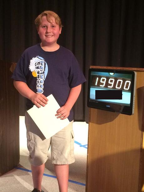 Congrats to our LBUSD MS Jeopardy Champion!